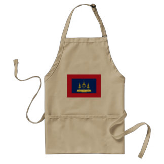 King Of Siam, Thailand flag Aprons