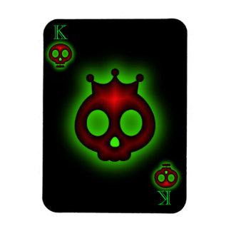 King of Skulls Premium Flexi Magnet