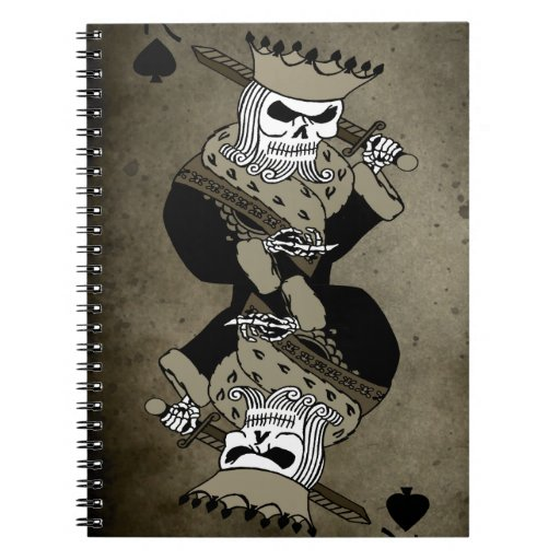 King of Spade Notebooks