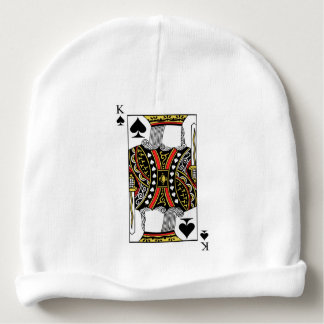 King of Spades - Add Your Image Baby Beanie