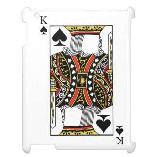 King of Spades - Add Your Image Case For The iPad 2 3 4