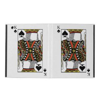 King of Spades - Add Your Image iPad Folio Case