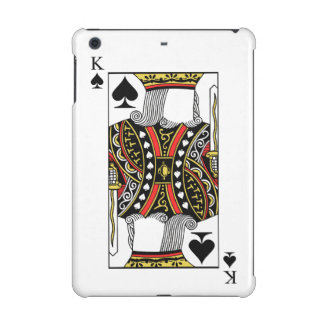 King of Spades - Add Your Image iPad Mini Cases