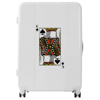 King of Spades - Add Your Image Luggage