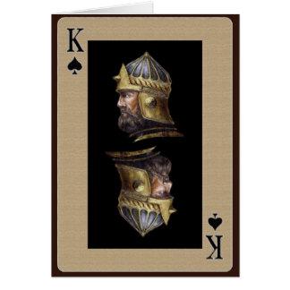 King of Spades Card