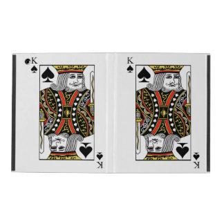 King of Spades iPad Case