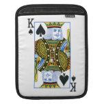 King of Spades iPad Sleeve