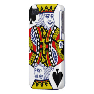 King of Spades iPhone 4 case