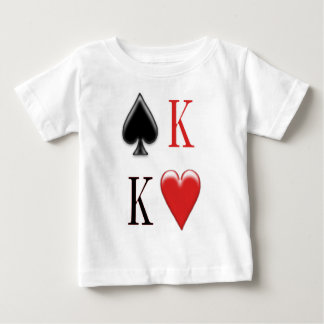 King of Spades, King of Hearts  Apparel Baby T-Shirt