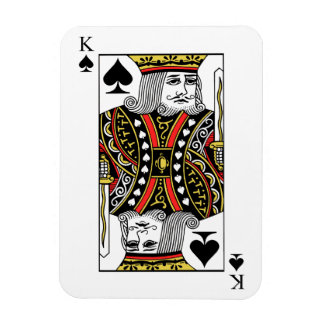 King of Spades Magnet