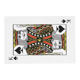King of Spades Placemat