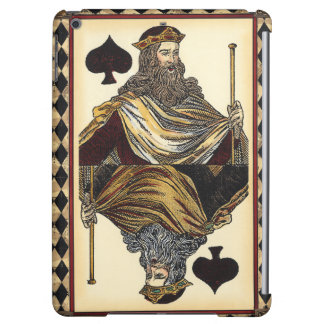 King of Spades Playing Card by Vision Studio Case For iPad Air