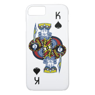 King of Spades Playing Card iPhone 8/7 Case