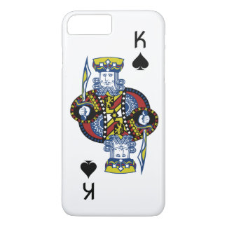 King of Spades Playing Card iPhone 8 Plus/7 Plus Case