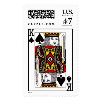King of Spades Postage