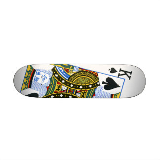 King of Spades Skateboard Mini