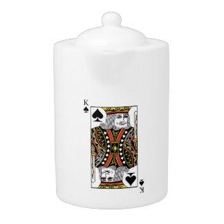 King of Spades Teapot