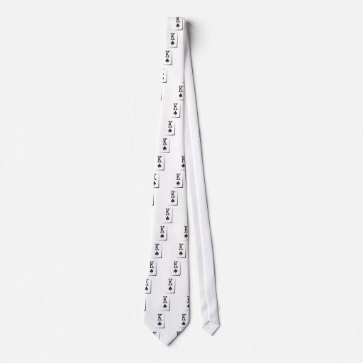 King of spades tie