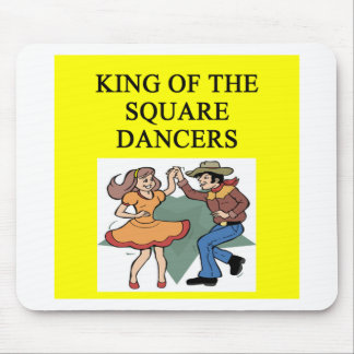 king of square dancing mouse pad