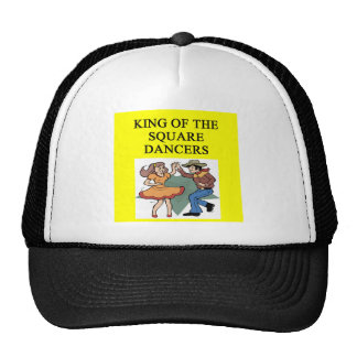 king of square dancing trucker hat