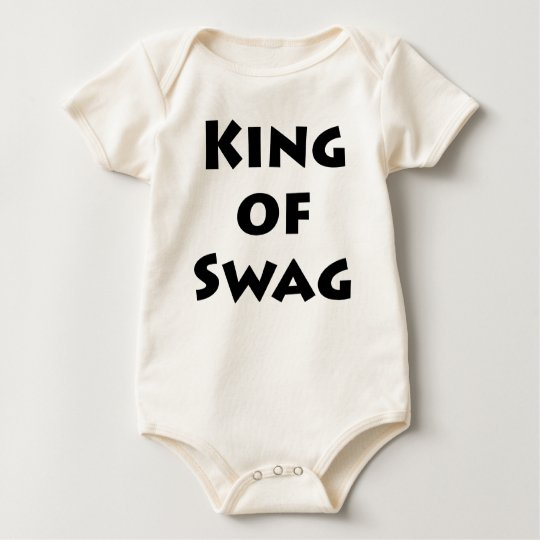King of Swag Baby Bodysuit