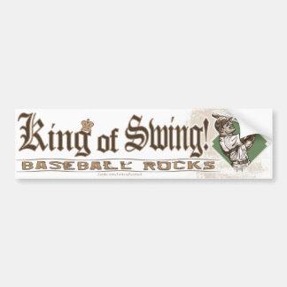King of Swing! Bumpersticker Bumper Sticker
