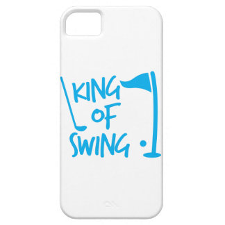King of SWING! golf ball and golf club iPhone 5 Cases