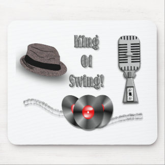 King Of Swing Mouse Pad
