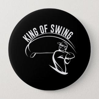 King of Swing Pinback Button