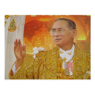 King of thailand postcard