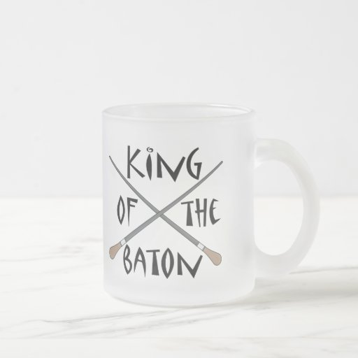 King of the Baton Conductor Gift Mugs