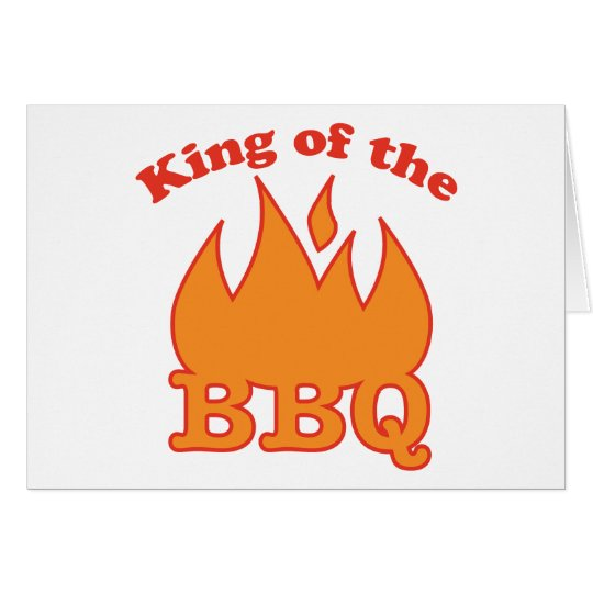 King Of The BBQ Card