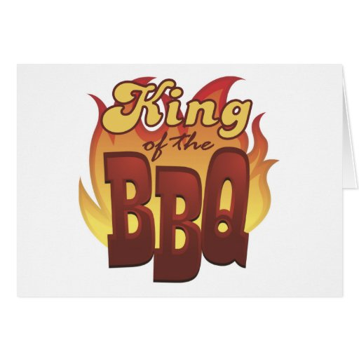 King Of The BBQ Cards