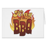 King Of The BBQ Greeting Card