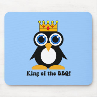 king of the bbq mouse pad