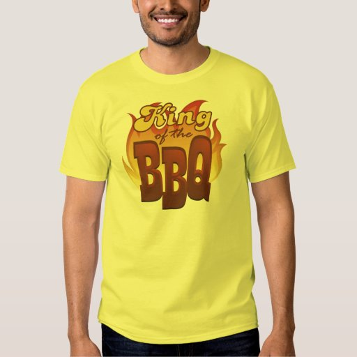 King Of The BBQ T-Shirt