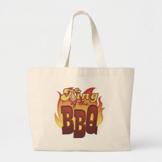 King Of The BBQ Tote Bag