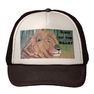 KING OF THE BEAST LION hat