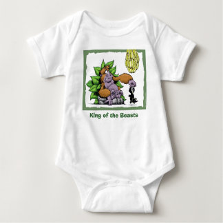 King of the Beasts Baby Bodysuit