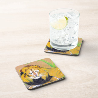 King of the Beasts Drink Coaster