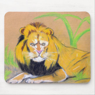 King of the Beasts Mouse Pads