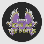 King of the Beats Stickers
