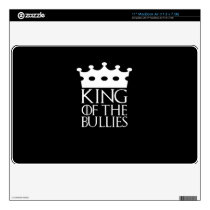 "King of the Bullies, #Bullies 11"" MacBook Air Decal"