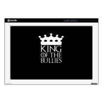 "King of the Bullies, #Bullies 17"" Laptop Decal"