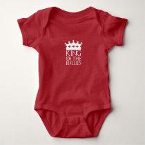 King of the Bullies, #Bullies Baby Bodysuit