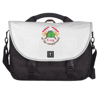 KING OF THE CAMPGROUND LAPTOP BAG