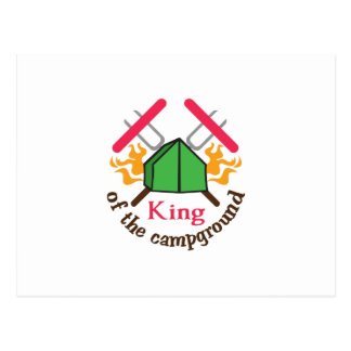 KING OF THE CAMPGROUND POST CARDS