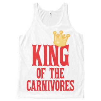 King Of The Carnivores All-Over Print Tank Top