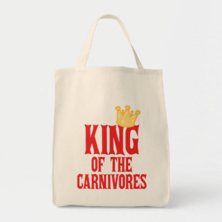 King of the Carnivores Tote Bag