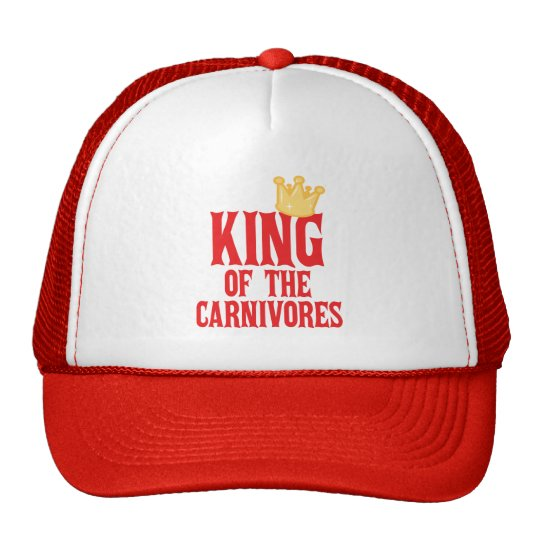 King of the Carnivores Trucker Hat